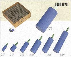 Diferentes tamaños de piedras difusoras
