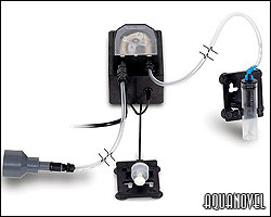 Equipo formado por bomba dosificadora y controlador de flotador