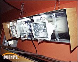 Instalación de lámparas HQI